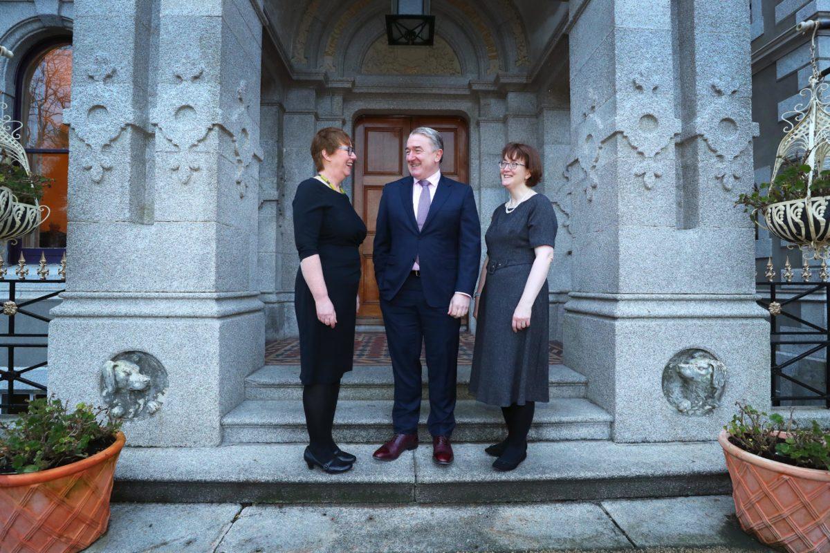 Dr Monica Gorman, John Jordan and Sinead McPhillips at Ceres Network breakfast Striking the gender balance in Irish Agri-Food