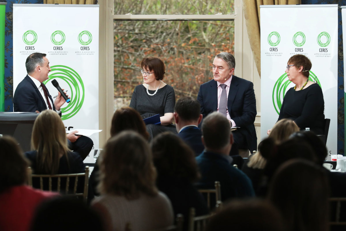 Speakers at Ceres Networking Event Striking the gender balance in Irish Agri Food
